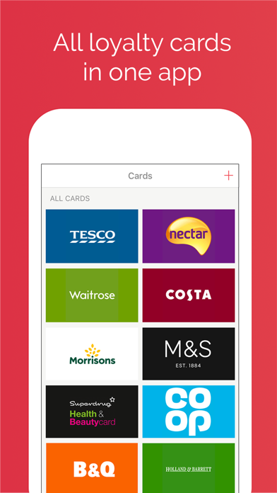 Screenshot for Stocard - Loyalty Cards Wallet in Belgium App Store