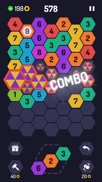 UP 9 - Hexa Puzzle! screenshot-2
