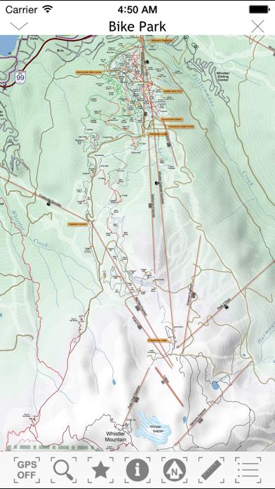 TrailMapps: Whistlerのおすすめ画像10