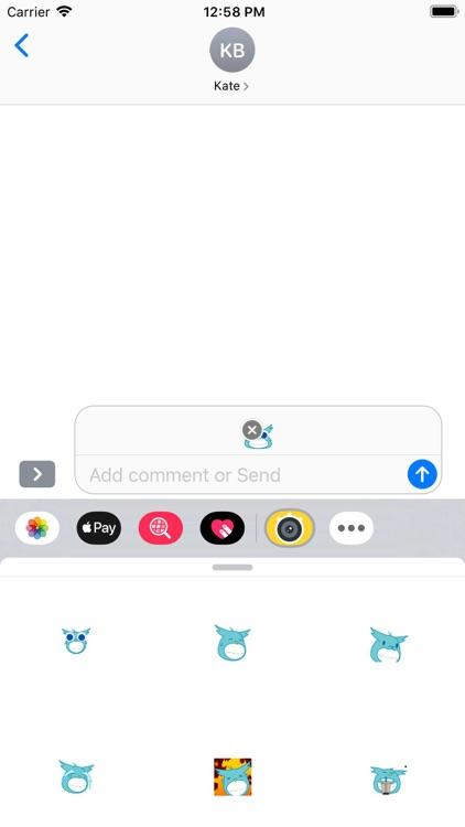Dynamic blue cute bird-八一六 screenshot-3