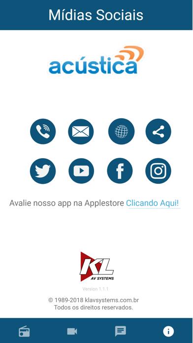 Acustica FM screenshot two