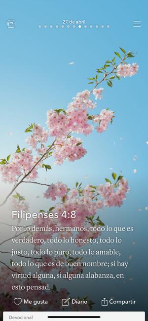 Inspiraciones Bíblicas Diarias En App Store