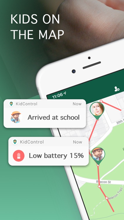 Family GPS Tracker KidControl screenshot-7