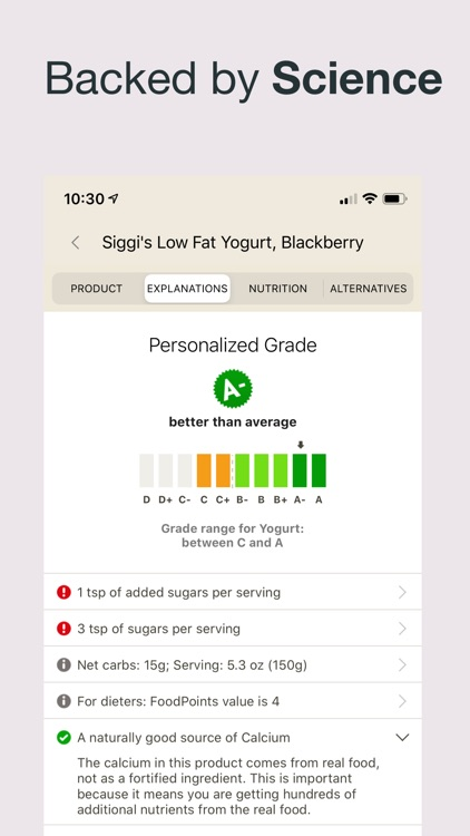 Fooducate - eat better coach screenshot-3