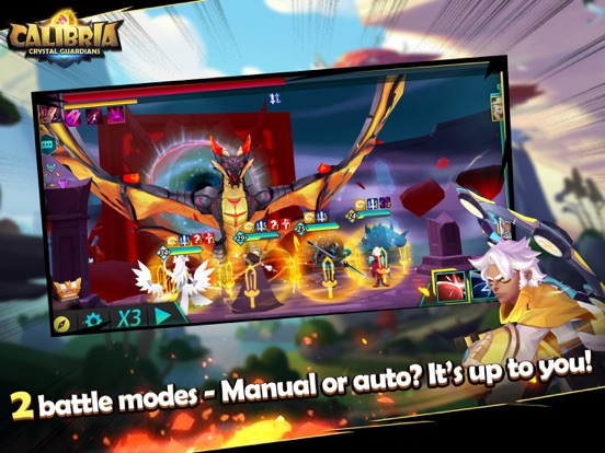 Calibria: Crystal Guardians screenshot 12