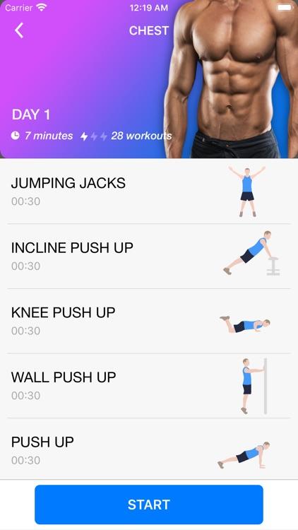 Home Workout App for Men