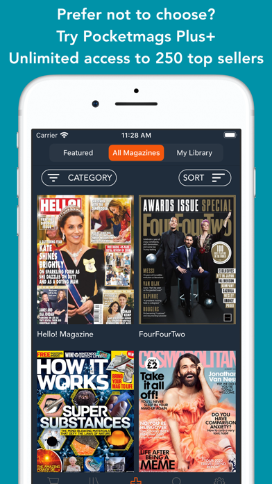 Pocketmags Digital Newsstand Screenshot