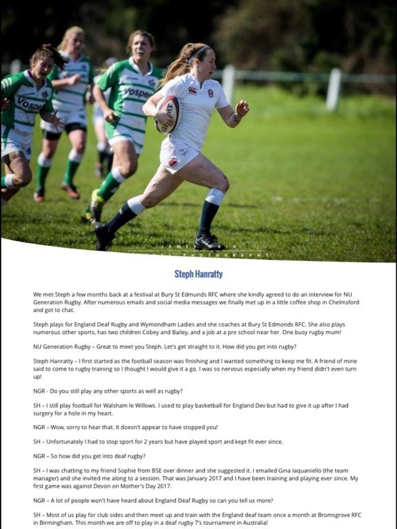 NU Generation Rugby Magazine screenshot 10