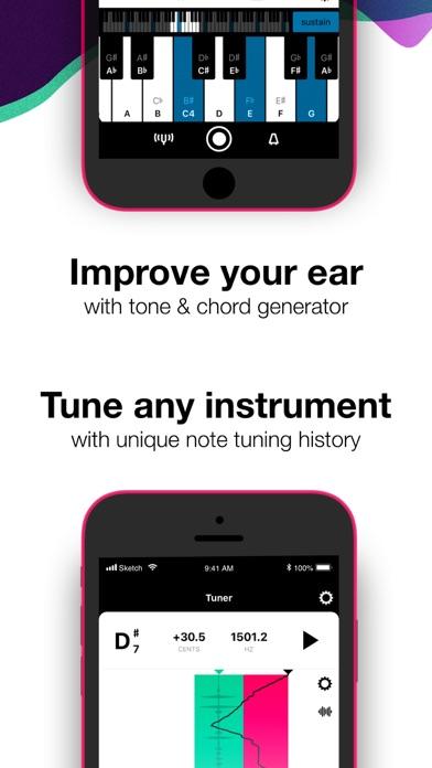 Tunable Tuner & Metronome app image