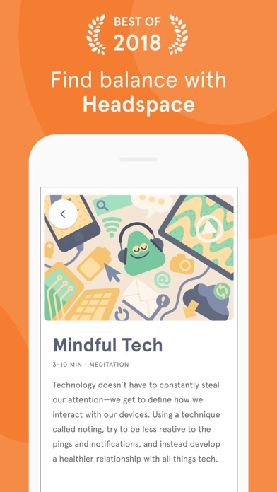 Screenshot for Headspace: Guided Meditation in Israel App Store