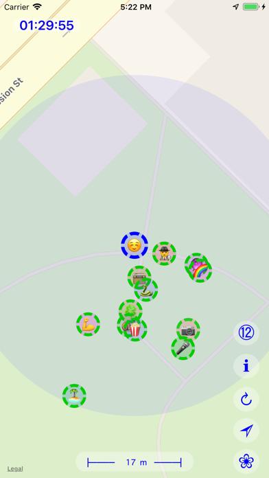 Group Tracker ⊚ screenshot two