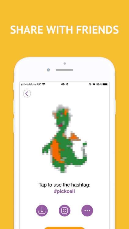 PickCell: Pixel Coloring Book