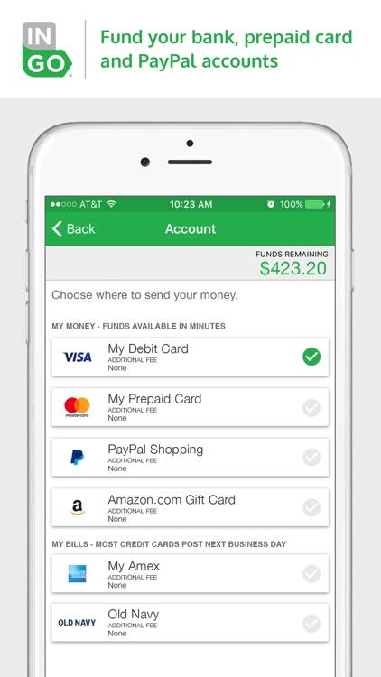 Ingo Money – Cash Checks Fast