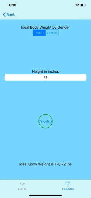 Calculate My Body on the App Store