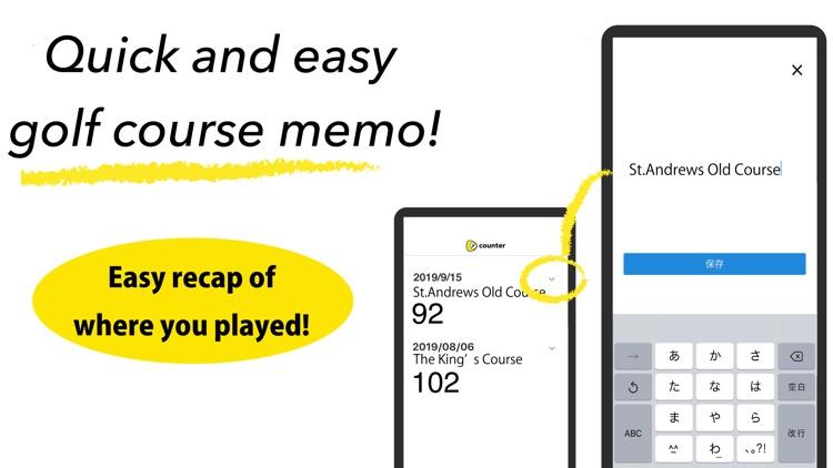 golf score counter with watch screenshot-3