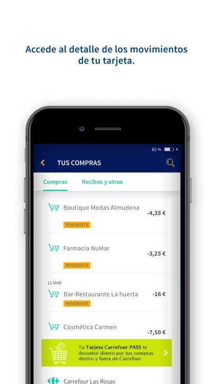 Carrefour PASS Móvil screenshot-3