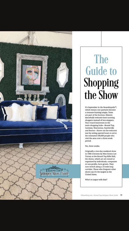 Round Top Antiques Show Guide screenshot-6