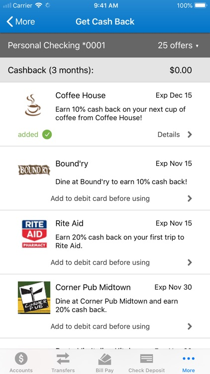 Home Savings Mobile Banking screenshot-6