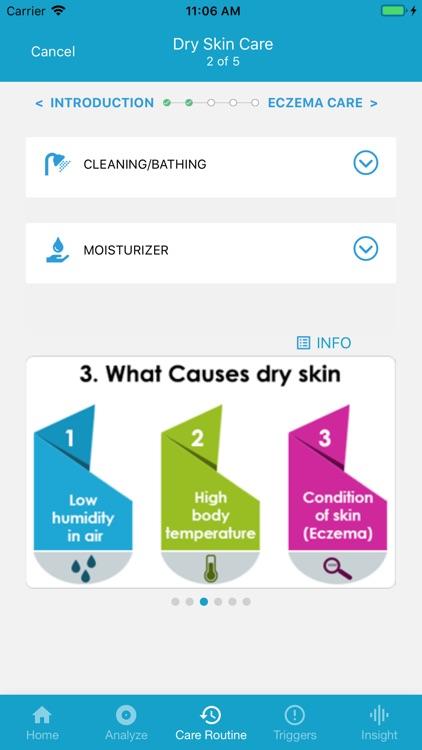 EczemaLess, an AI Eczema Guide screenshot-5