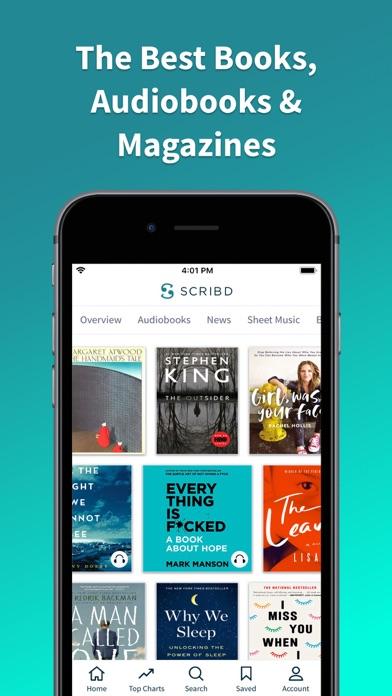 Scribd - audiobooks & ebooksのおすすめ画像1