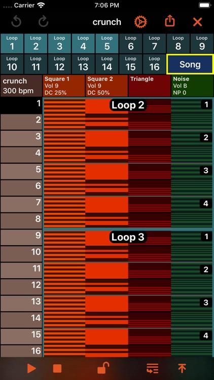 October - Chiptune Maker screenshot-0