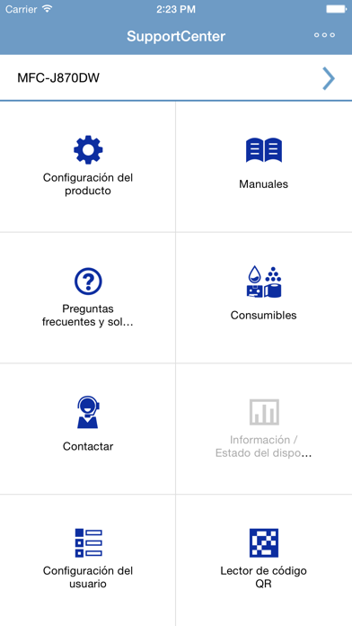 Screenshot for Brother SupportCenter in Spain App Store