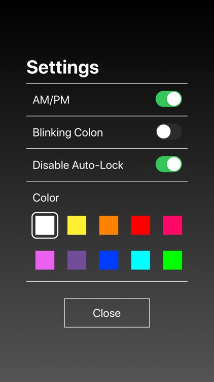 Digital LED Clock screenshot-6