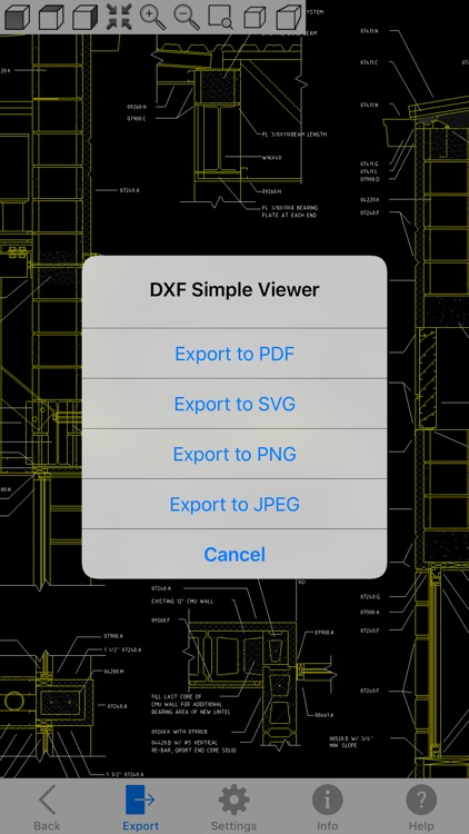 DXF Simple Viewer