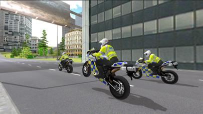 Police Motorbike Simulator 3Dلقطة شاشة2