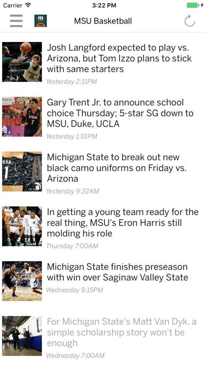 Spartans Basketball News