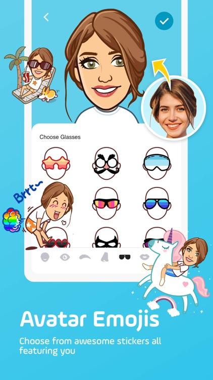 Facemoji Keyboard: Emoji&Fonts screenshot-3