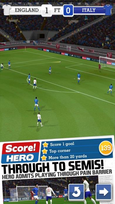 Screenshot for Score! Hero in Saudi Arabia App Store