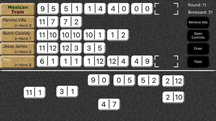 Mexican Train Dominoes screenshot-5