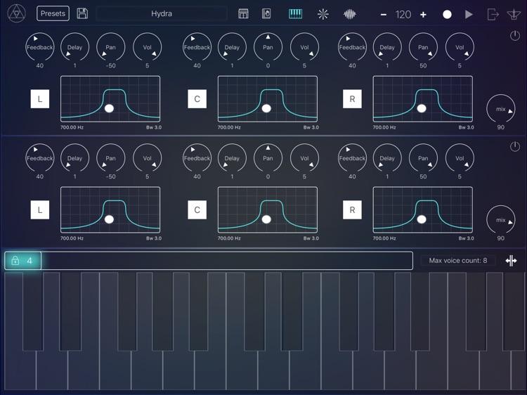 Scythe Synthesizer screenshot-5