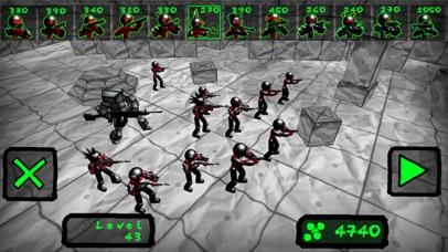 Battle Sim: Stickman Zombie screenshot 2