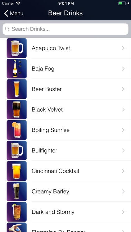 Bebidas & Drinks screenshot-2
