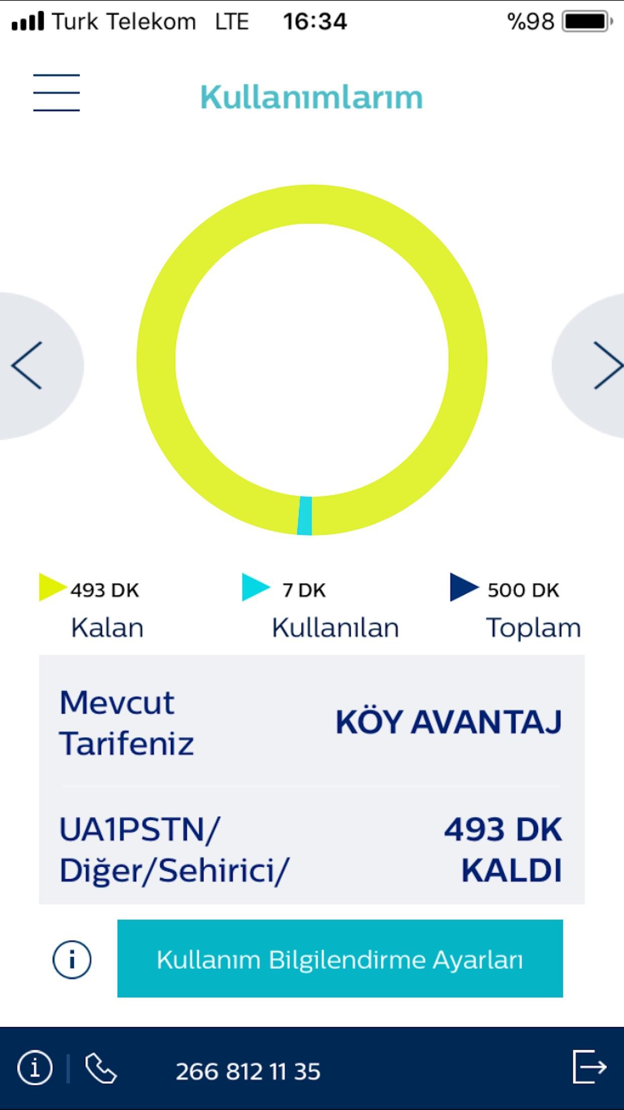 Türk Telekom Online İşlemler Screenshot