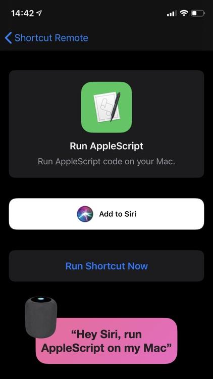 Shortcut Remote Control