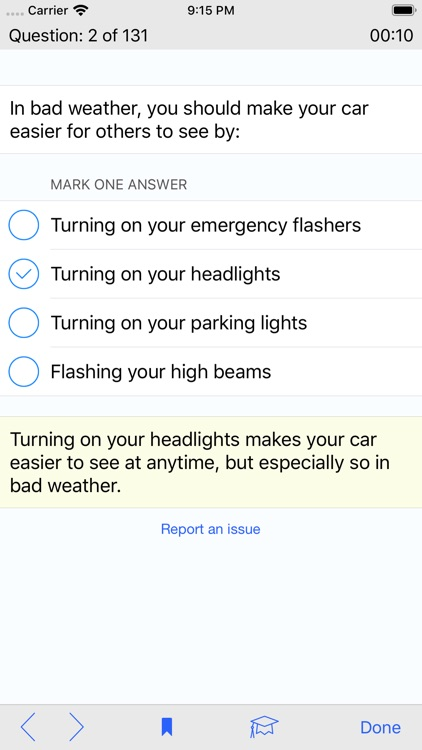 Washington DMV Test Prep screenshot-4