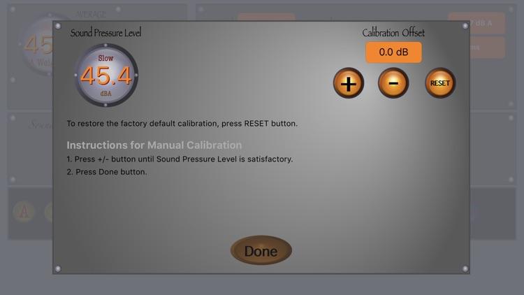 SoundMeter+ screenshot-7