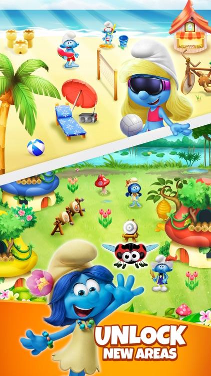 Smurfs Bubble Shooter Game screenshot-4