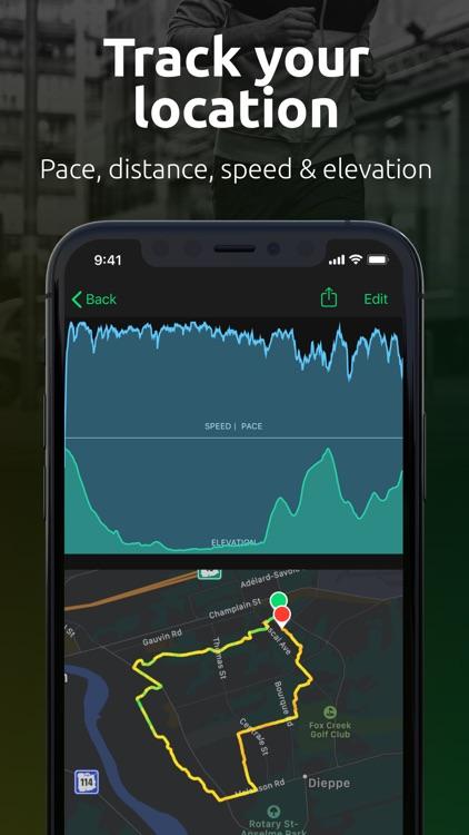 FITIV Pulse GPS Cardio Tracker screenshot-5