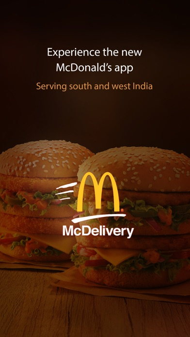 Screenshot for McDelivery India  west & south in Azerbaijan App Store