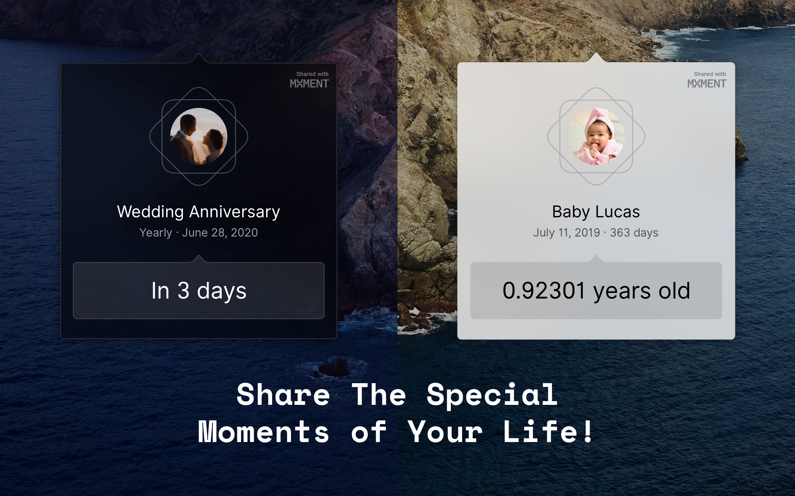 Screenshot do app Moment - Every Day Counts!