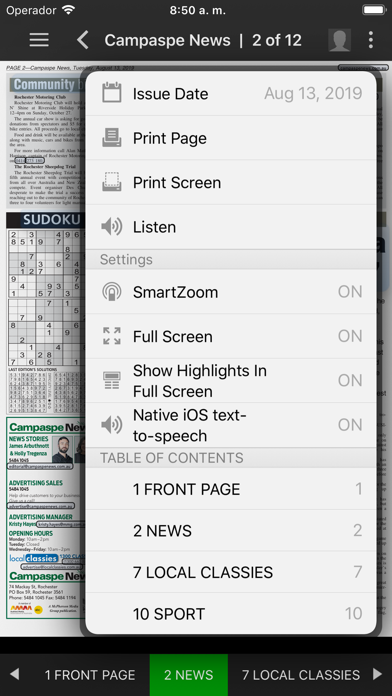 Campaspe NewsScreenshot of 5