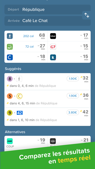 Screenshot #2 pour Citymapper