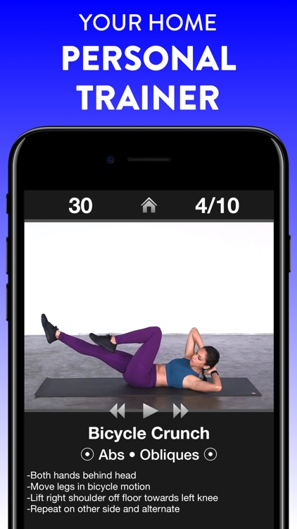 Daily Workouts Fitness Trainer screenshot-0