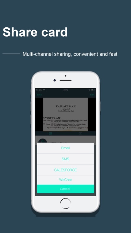 FoxCard&business card scanner