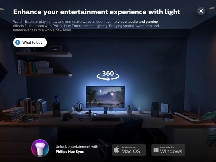 Philips Hue in-store app screenshot-4