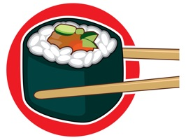 The SushiSetFSt is a cartoon sticker, which are show the sushi foods
